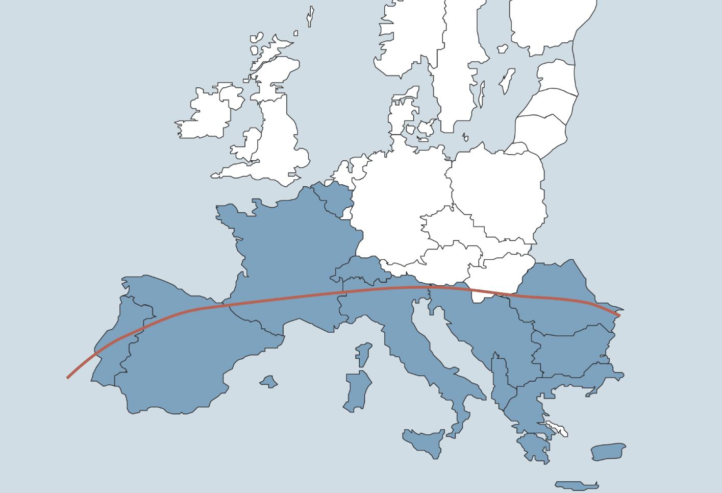 Babesia en Ehrlichia komt voor in Zuid-Europa